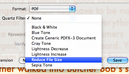 Reducing Word and PDF file size: automated  Kind of  « Out